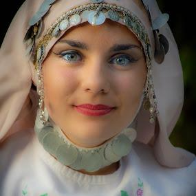 by Mladjan Pajkic - People Portraits of Women ( woman, ornament, girl )