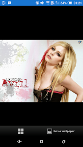 Avril Lavigne Wallpaper screenshot 0
