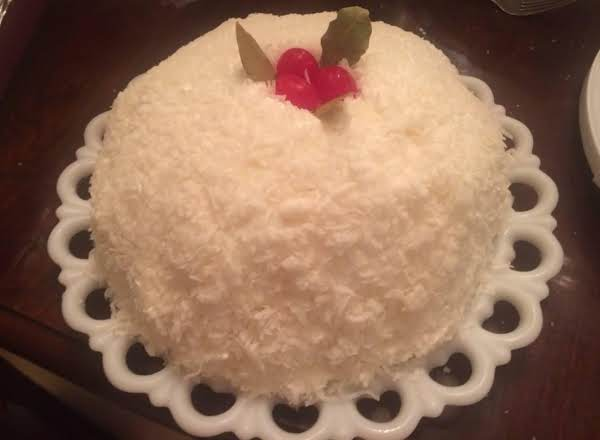 Old Fashioned Snowball Cake