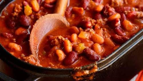 "Christy's Crock Pot Chili ""Any southerner worth their salt has a great..."