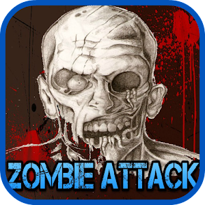 Zombie on the screen