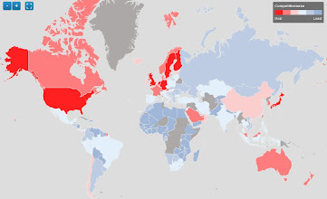 Photo: Navigate a visual map of the world's most competitive economies: http://wef.ch/m1XE6