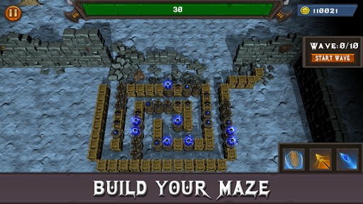 Fantasy Defense: Art of War Offline Defense screenshots 1