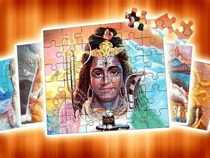 Lord Shiva - Shiv Parvati Jigsaw Puzzle Screenshot