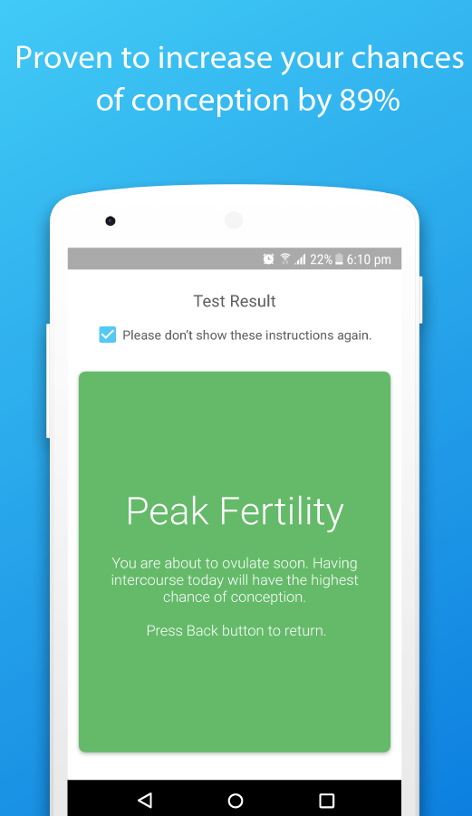 Inito Fertility & Ovulation- screenshot