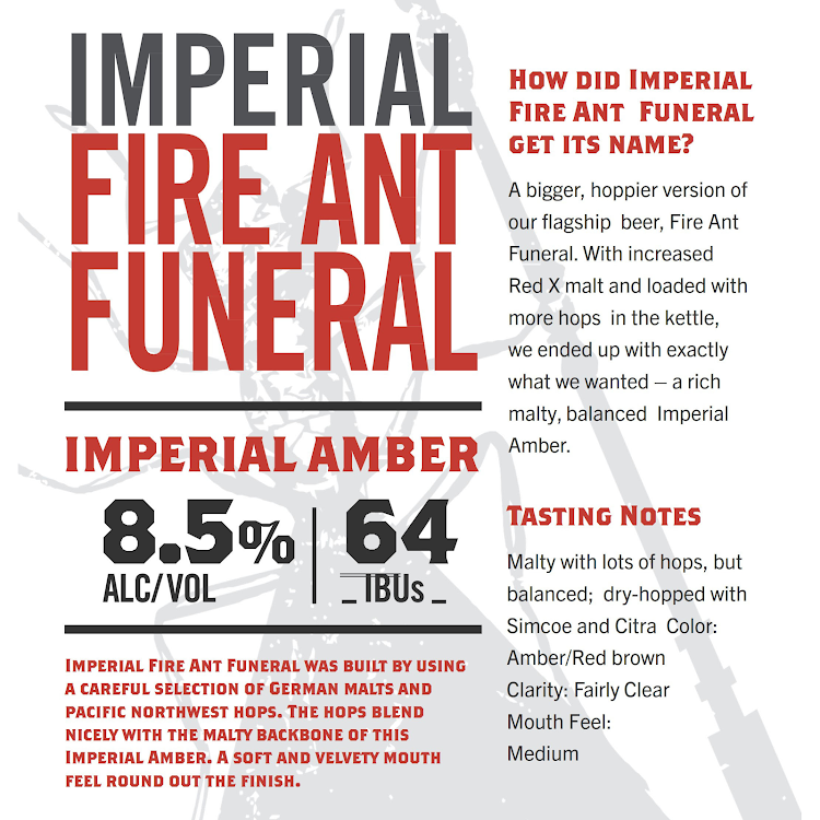 Logo of Texas Ale Project Imperial Fire Ant Funeral