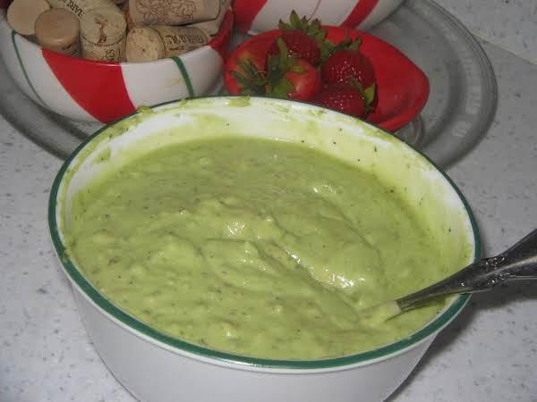 Avocado Sauce -quick And Easy Recipe