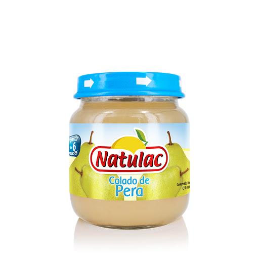 compota natulac pera 113gr Rico en vitaminas, libre de conservantes y colorantes.