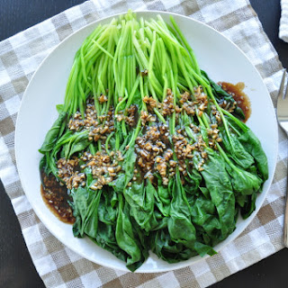 Garlic Oyster Sauce Spinach Recipes.