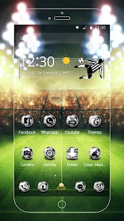 Fútbol Tema Screenshot