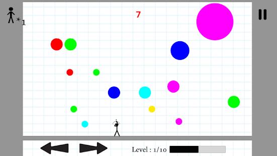 Stickman Bubble Shooter - náhled