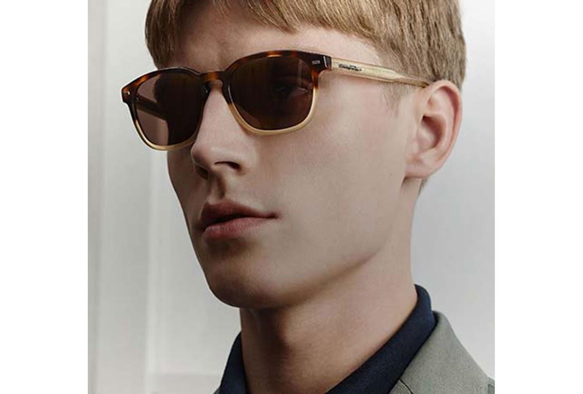 3aca1423f1b Buy Ermenegildo Zegna EZ0022 C50 55V (coloured havana   blue) Sunglasses