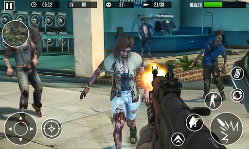 Zombie Invasion Dead Hunter Last Survival 3D 1.02 screenshots 2