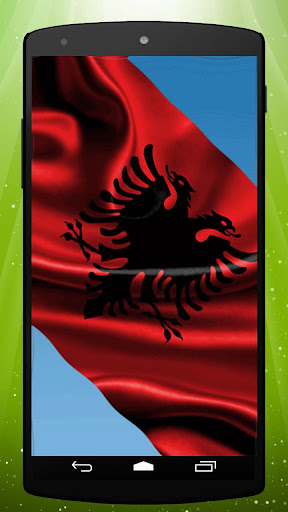 Albanian Flag Live Wallpaper