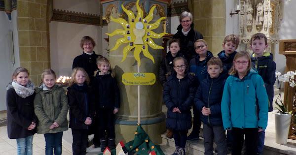 Vorstellungsgottesdienst der Kommunionkinder 2018 - St.Johann / Riemsloh und St. Anna / St. Annen