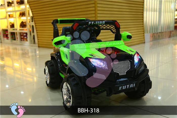 Ô tô điện trẻ em BBH-318 kiểu Police 4