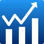 Mutual fund app, SIP Investment, Track, Invest. Icon