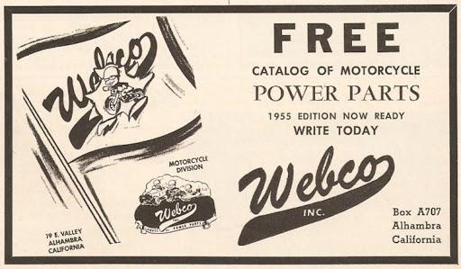 Machines et Moteurs le spécialiste des motos Anglaises classiques vous fait découvrir l'histoire de Webco.