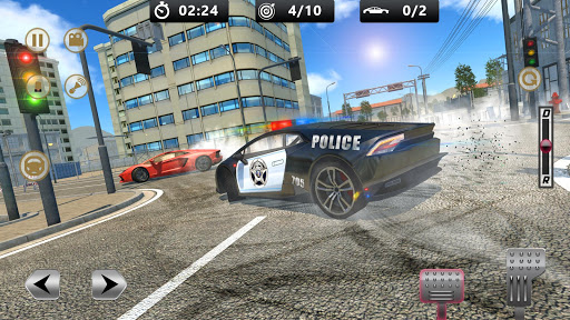 Cop Chase - Police Car Drifting Simulator 2018  screenshots 6