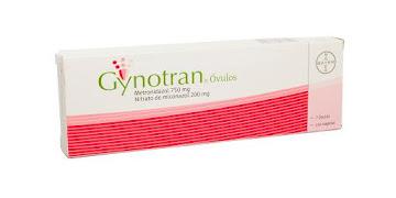 Gynotran 750/200Mg Óvulos