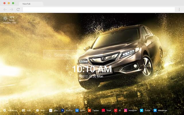 Acura car HD wallpaper new label theme