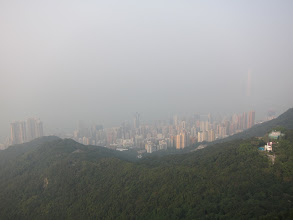 Photo: Northern Hong Kong island from Lung Fu Shan lookout (tall white building on right is in Kowloon)