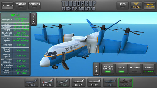 Turboprop Flight Simulator 3D  captures d'u00e9cran 1