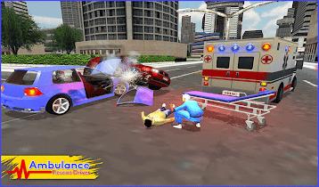 Ambulance Rescue Driver 2017 - screenshot thumbnail 13