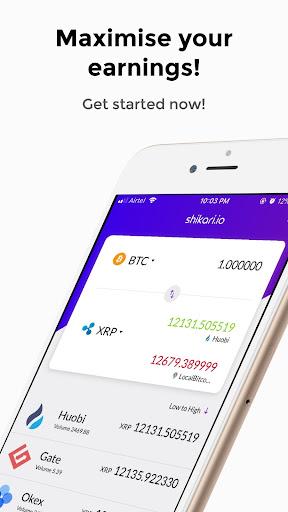 Shikari - Cryptocurrency Calculator and Converter  screenshots 5