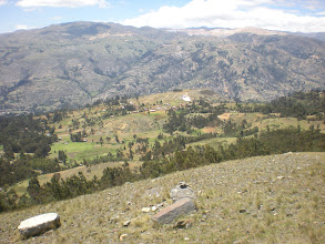 Photo: View to the right of Huaraz.