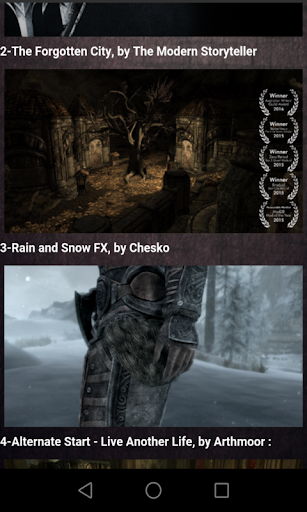 Mods for skyrim Guide  screenshots 2