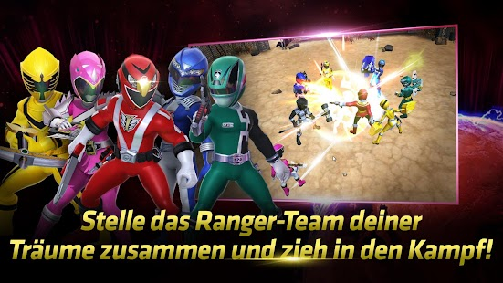 Power Rangers: All Stars Screenshot