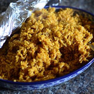 Oven-baked Jollof Rice