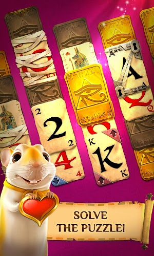 13 Pyramid Solitaire Saga App screenshot