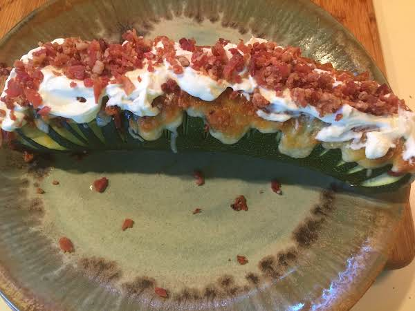 Over Stuffed Zucchini