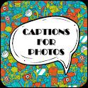 Caption For Photos icon