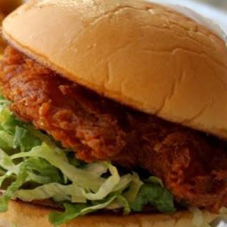 Spicy Fried Chicken Sandwich.