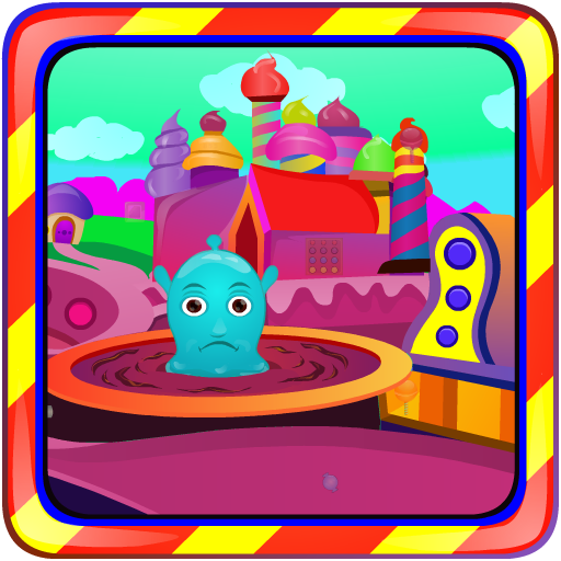 Blue Jelly Escape 解謎 LOGO-玩APPs