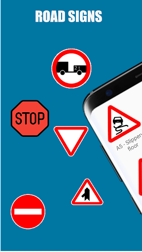 Traffic Signs: Road signs and meanings  screenshots 1