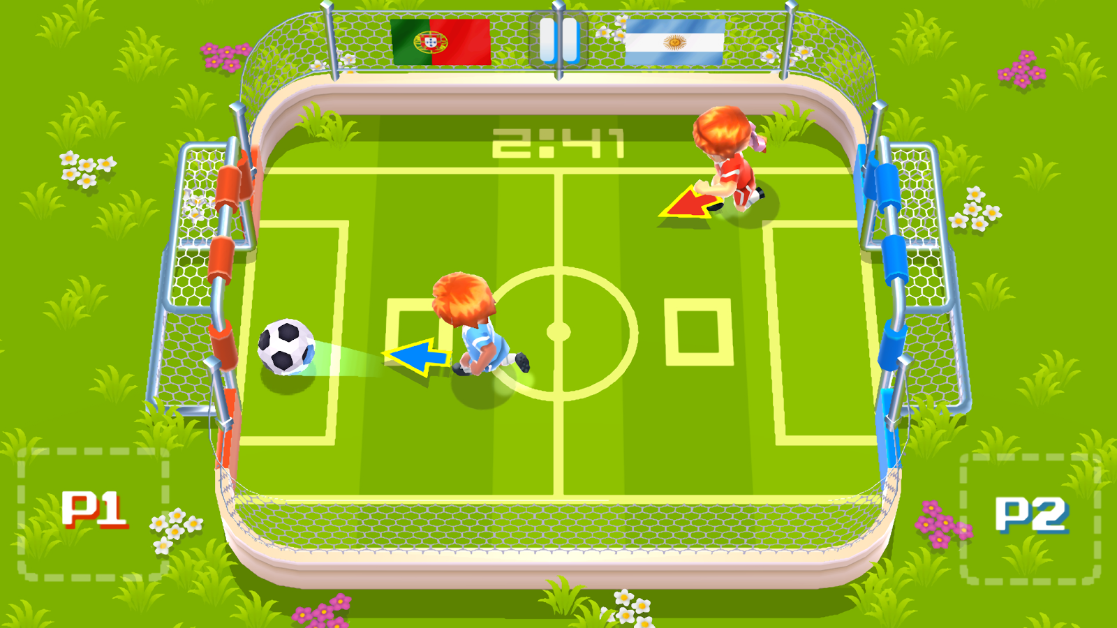Super Simple Soccer- screenshot