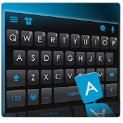 Download Classic Business Blue Keyboard Theme APK for Android Kitkat