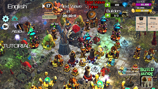 ☣️ Clash Of Orcs ⛺️ City Building Defense War TD 3.42 screenshots 1