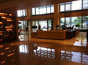 Photo: Shanghai Marriott hotel lobby