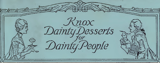 Food for Thought: Dainty Desserts for Dainty People