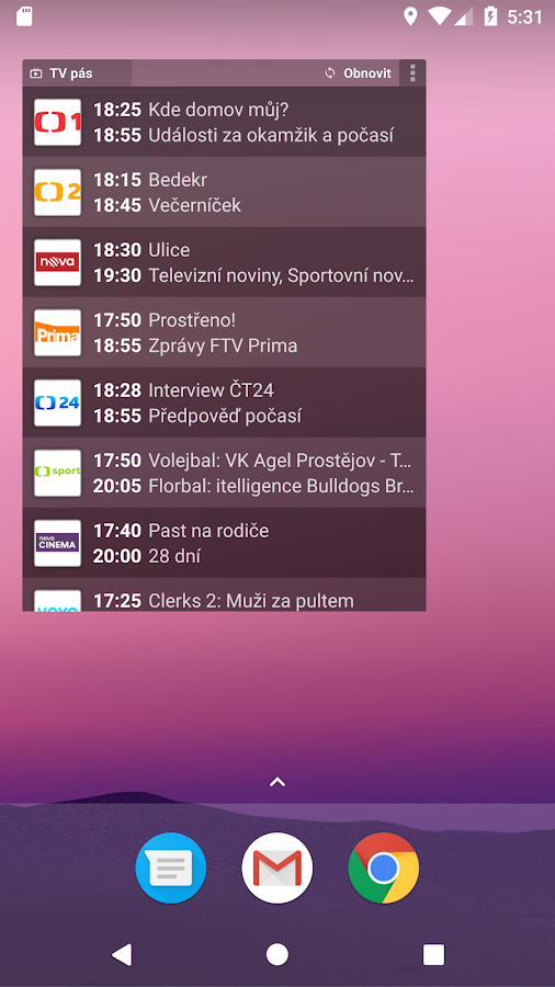 FDb.cz TV KINO PROGRAM- screenshot