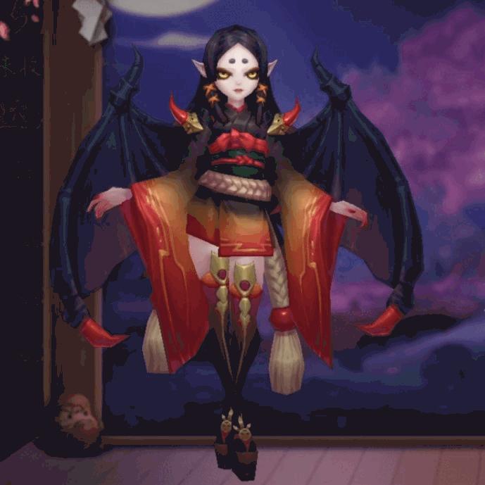 吸血姫のSPスキン