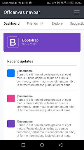 Bootstrap 4 0.1.4 screenshots 8