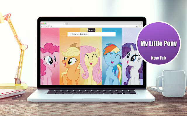 HD My Little Pony Wallpapers New Tab Theme