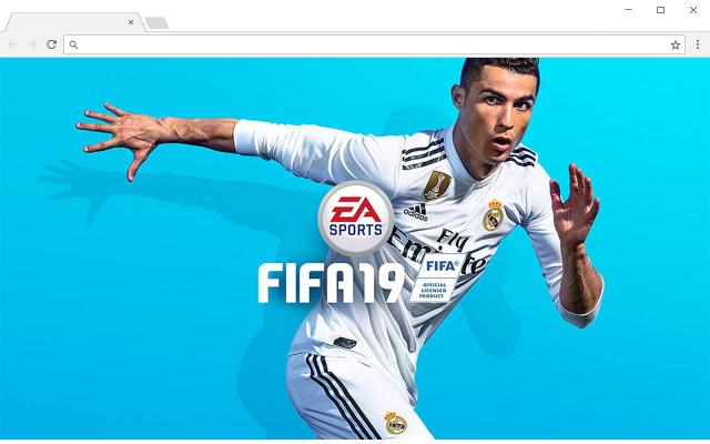 FIFA 19 New Tab for Chrome
