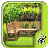 Wooden Garden Bench Design